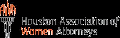 Houston Association of Women Attorneys logo.