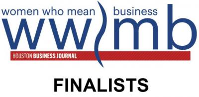 Kathy Lehne finalist in the HBJ women who mean business awards.
